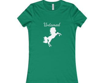 Wild Horse T-shirt Free Spirit T-shirt Cute Womens Boho Tee