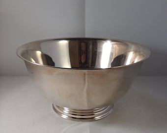 Paul Revere Reproduction Silverplate Bowl