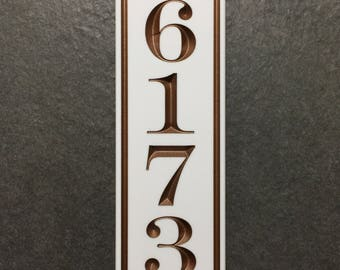 Eclectic Address Sign