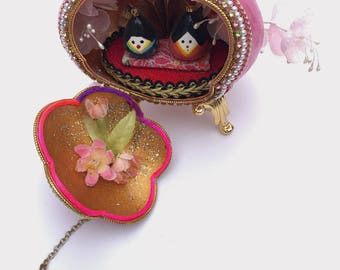 Japanese Hinamatsuri Themed Goose Egg