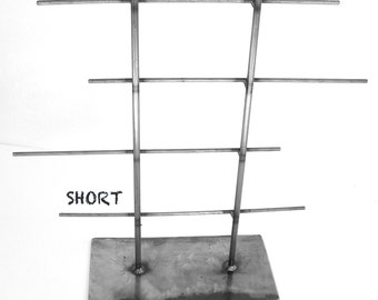 SHORT Natural Metal Jewelry Rack by grafix