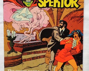 Occult Files of Doctor Spektor 1973 Whitman #25 Cult of the Vampire
