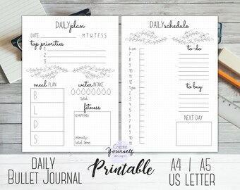 daily planner etsy