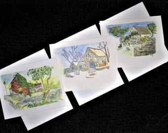 Ireland Note Cards ~ Six in a package (Asstd)