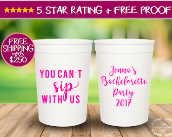 16oz Personalized Cups, Custom Wedding Cups, Stadium Cups, Party Cups,  Bachelorette Party Cups, Plastic Cups, Stadium Cups, Bachelorette