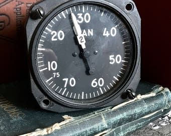Industrial Pressure Gauge, Steampunk Gauge, Antique Pressure Gauge Steampunk, 10-75in, Steampunk gage, Pressure Gage, Antique Gauge