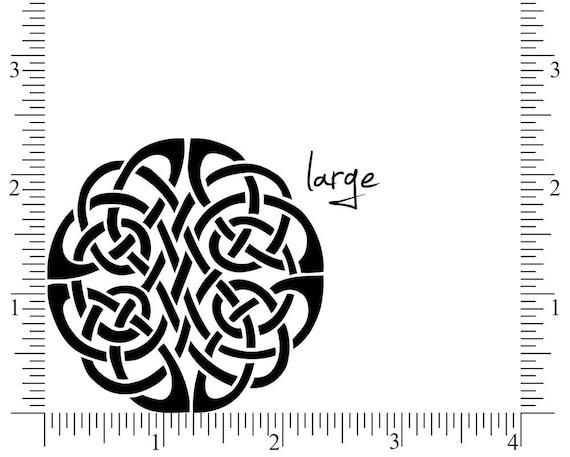 Celtic Knot Stamp Infinity Eternity Symbol Stamp Celtic Circle
