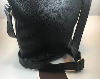 Coach Bag / Coach Bucket Bag / Vintage Coach Bag  / Coach Sonoma Duffle Bag / Coach Purse Black / Coach Bag 4907 /