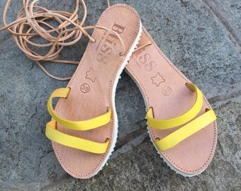 "Greek Leather Sandals, ""summer"", Greek Sandals, Handmade Sandals, Wedding Sandals, Gift Sandals, Unique, Bridsmaid Sandals, Simple Sandals"