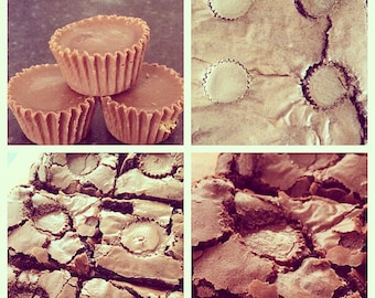 Reeces Peanut Butter Cup Brownies