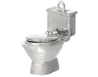 Toilet Commode Stool Charm - Clip On - Ready to Wear
