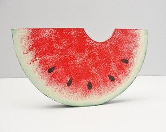 Wooden Watermelon Slice