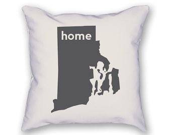 Rhode Island Home Pillow