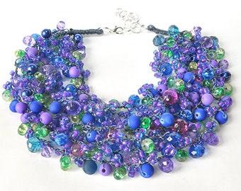 kama4you 3410 necklace crocheted