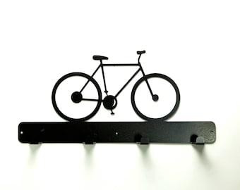 Bicycle Coat Rack