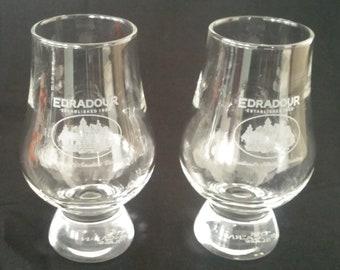 Crystal Drink Glasses Made in Scotland (Set of 2)