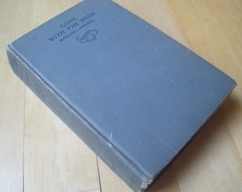 Vintage Book Gone With the Wind - 1938