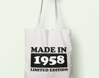 Made In 1958 Limited Edition Tote Bag Long Handles TB1721