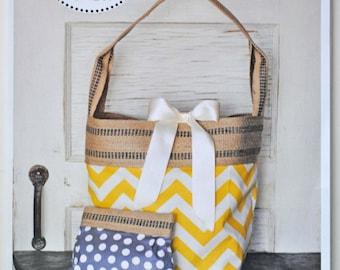 Bucket Bag sewing pattern