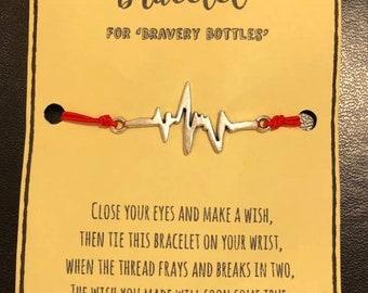 Bravery Bottles 'Wish Bracelet'