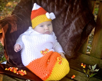 Newborn Candy Corn Baby Candy Corn Hat Newborn Candy Corn Outfit Newborn Halloween Costume Newborn Halloween Photo Prop Baby Candy Corn  sc 1 st  Etsy & Newborn Candy Corn Hat Baby Candy Corn Hat Candy Corn Hat