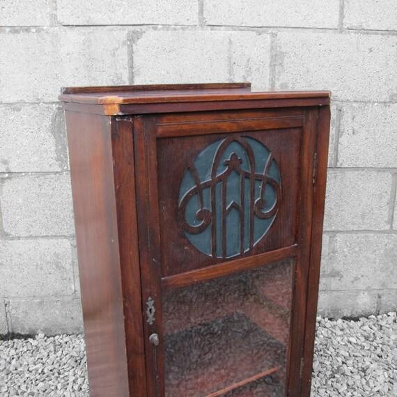 Vintage Music Box Wooden Storage Cupboard