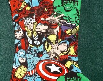 Marvel Avengers  Christmas Stocking