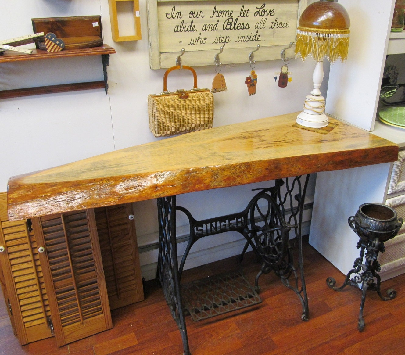 Desk sewing table image collections bar height dining table set industrial media bohemian table console buffet sideboard desk watchthetrailerfo