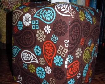 Ready To Ship - Paisley Fall  - Tissue Box Cover