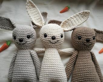 Kaleja Bunny crochet pattern (in German or Hungarian)