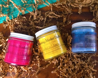 Gilmore Girls Inspired Candle Set 3 Candles - Vegan Friendly - Coconut Soy Wax  Hunt-