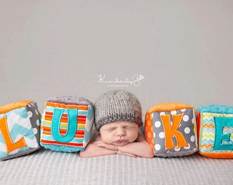 PDF Knitting  Pattern - newborn photography prop basic beanie #18
