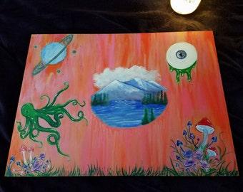 lucid original painting