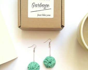 Tosca - Upcycled Nickel Free earrings