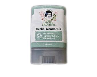 Herbal Deodorant--Travel Size