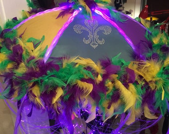 Second Line Mardi Gras Umbrella