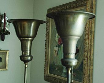 Vintage floor lamp   Etsy