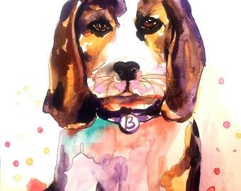 Pet Portrait,Custom Pet Portrait,Dog Portrait,Dog Portrait Custom,Watercolor Painting,Custom Dog Portrait,Dog Painting Custom, Dog Painting