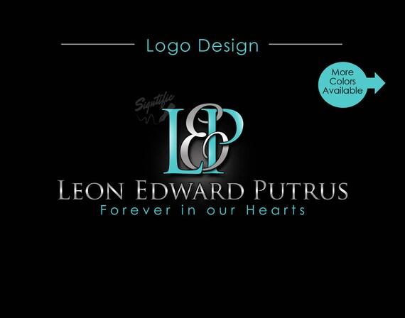 Custom Name Logo, Monogram Logo, Memorial Name Logo, Initials Name Logo, Agent Logo, Intertwined Logo, Realtor Logo, Professional Logo