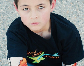 3rd Grade Rocks Tattoo Sleeve T Shirt