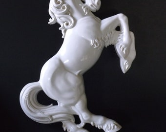 Burwood Products 17-18 inch White Unicorn Wall Decor, Customize