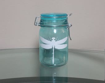 Dragonfly Stash Jar