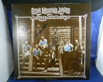 Record Album - Ozark Mountain Jubilee - The Foggy River Boys Album - Autographed