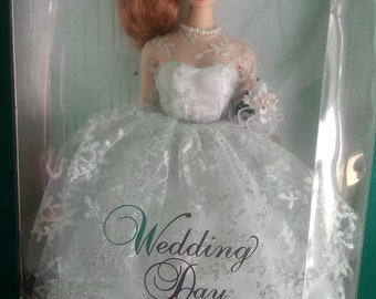 Mattel Wedding Day Barbie Doll Red hair
