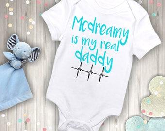 Grey's Anatomy Baby Bodysuit