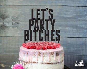 Customizable Bachelorette party cake topper- Customizable Bachelorette party Cake Topper- Personalized Bachelorette party Cake Topper