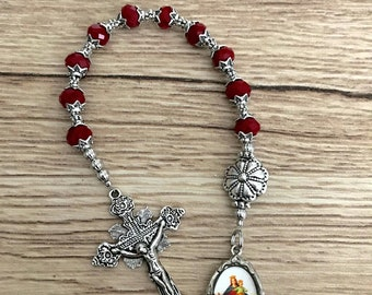 Maria Auxiliadora One Decade Rosary Chaplet