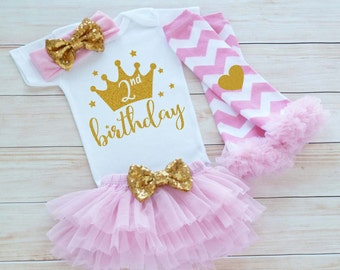 2nd Birthday Girl Shirt, Second Birthday Outfit Girl, 2nd Birthday Outfit, Birthday Gift, Second Birthday Girl Bodysuit, 2nd Birthday Shirt