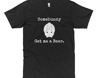 Easter gift for dad etsy easter tshirt some bunny get me a beer dads beer lover dad easter gift mens tshirt negle Gallery