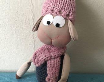 Crochet animals toy, toddlers toys, stuffed toy, amigurumi animals, sheep toy, amigurumi toy, stuffed plushie, cloth plushies, nursery decor